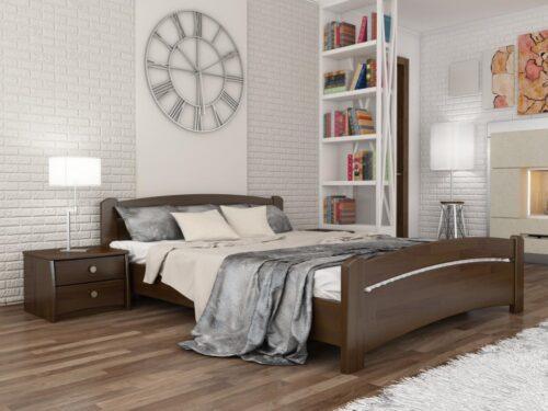 """Кровать из массива натурального дерева """"Венеция"""""""