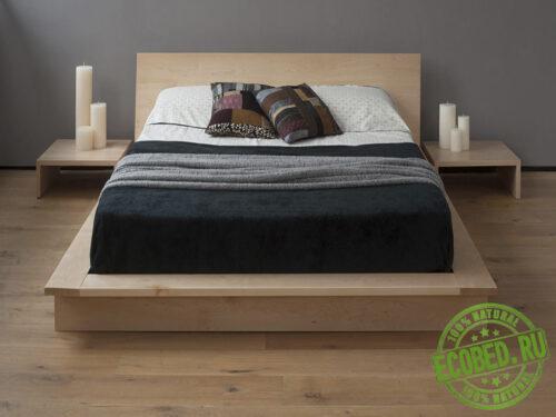 Кровать из массива натурального дерева Лорри
