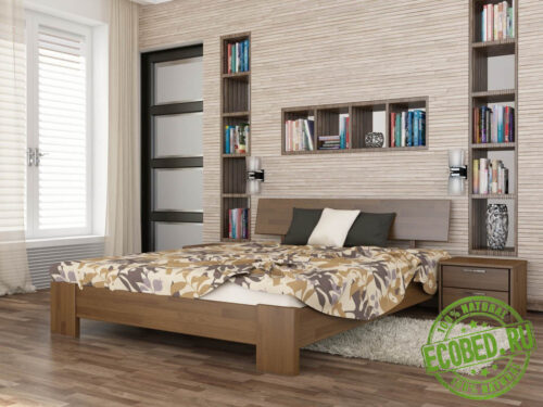 Кровать из массива натурального дерева Марсель