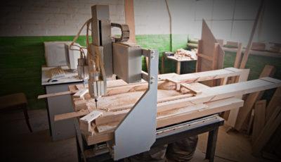 Производство из массива натурального дерева