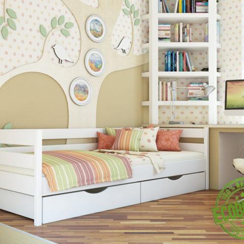 Кровать из массива натурального дерева Соло