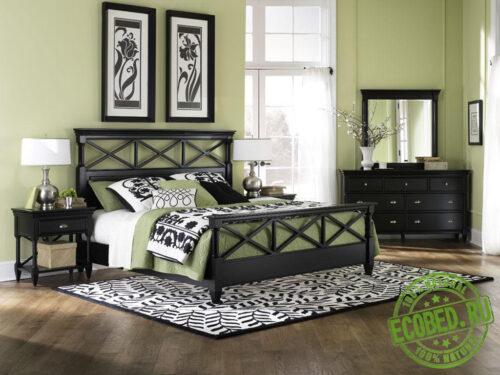 Кровать из массива натурального дерева Токката