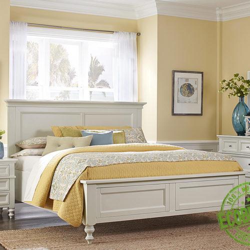 """Кровать из массива натурального дерева """"Чарльз"""""""