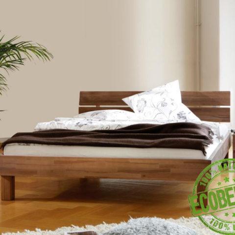 """Кровать из массива дерева """"Дуо"""""""