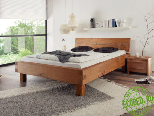 Кровать из массива дерева Пилатус