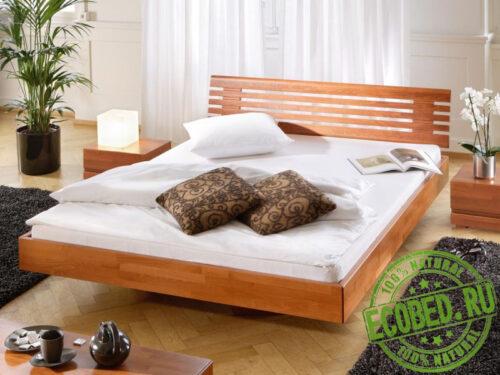 Кровать из массива натурального дерева Литто