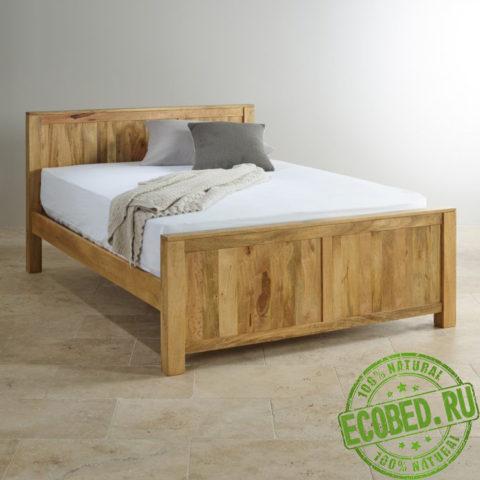 Кровать из массива натурального дерева Мантис
