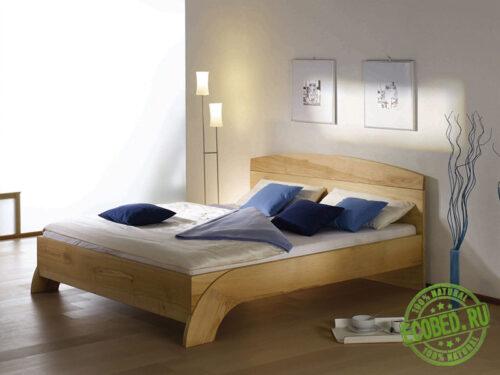 """Кровать из массива натурального дерева """"Бали"""""""
