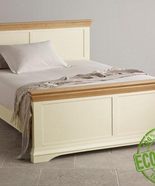 Кровать из массива натруального дерева Кантри