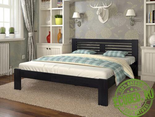 Кровать из массива натурального дерева Вега