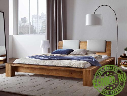 Кровать из массива натурального дерева Корт