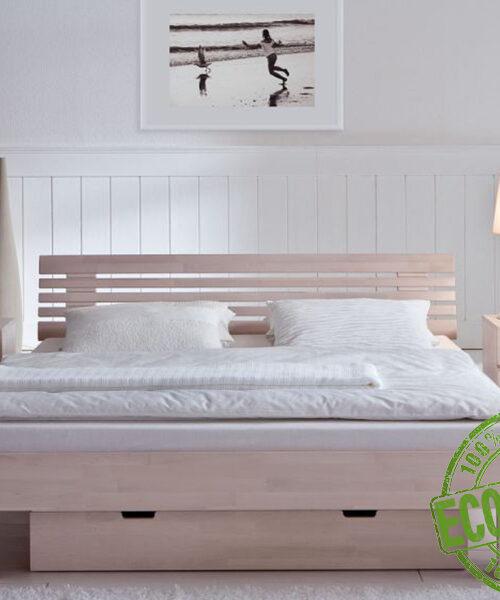 """Кровать из массива натурального дерева """"Норд"""""""
