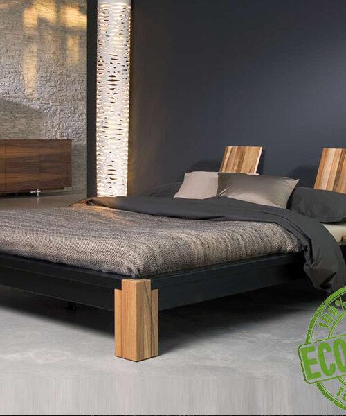 Кровать из массива натурального дерева Токио