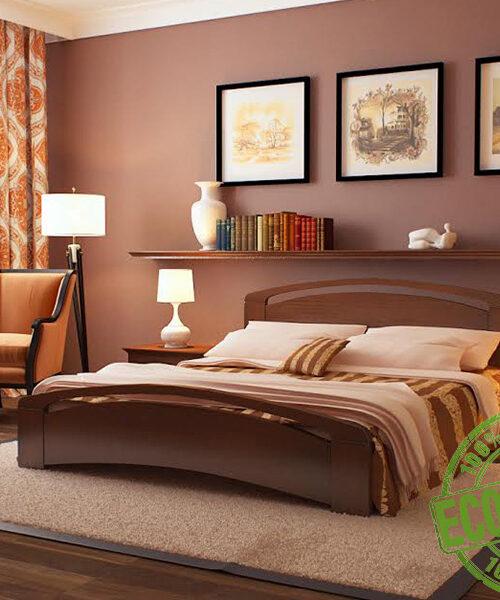 Кровать из массива натурального дерева Верона