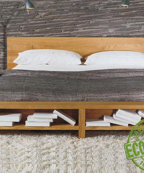 Кровать из массива натурального дерева Луна
