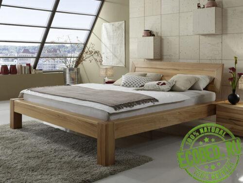Кровать из массива натурального дерева Милано