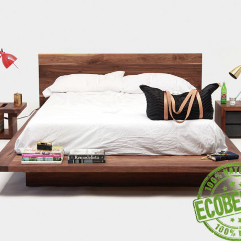 Кровать из массива натурального дерева Онна