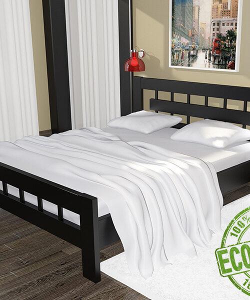 Кровать из массива натурального дерева Сакура