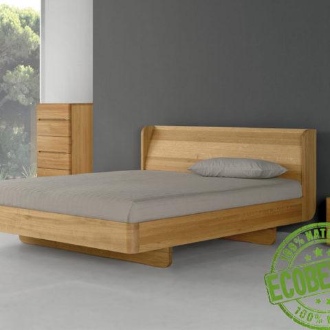 Кровать из массива натурального дерева Софт