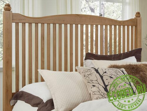 Кровать из массива натурального дерева Виктория