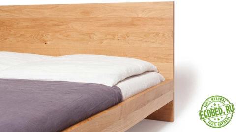 Кровать из массива натурального дерева Лофт