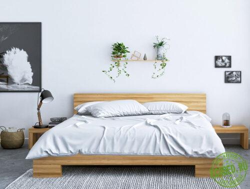 Кровать из массива натурального дерева Фредрик