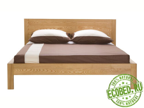Кровать из массива натурального дерева Торро