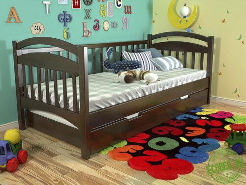 Кровать из массива натурального дерева Элис