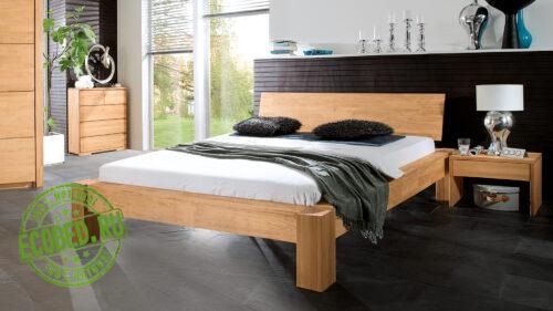 Кровать из массива натурального дерева Триумф 2