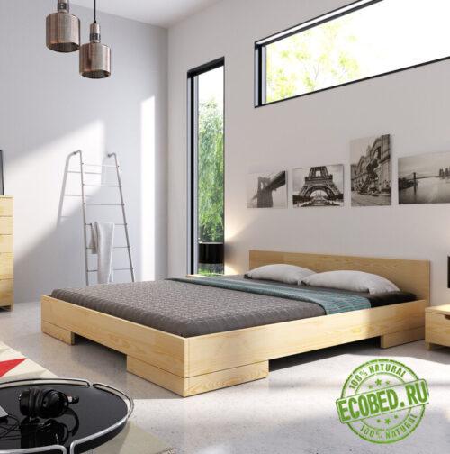 Кровать из массива натурального дерева Литл