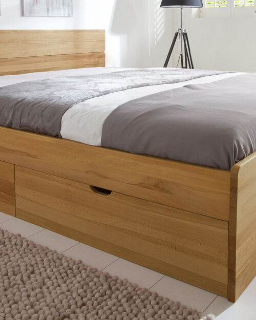 Кровать из массива натурального дерева Финляндия