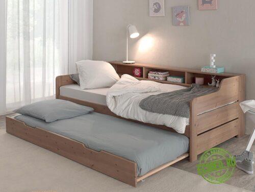 """Кровать из массива натурального дерева """"Бруно"""""""